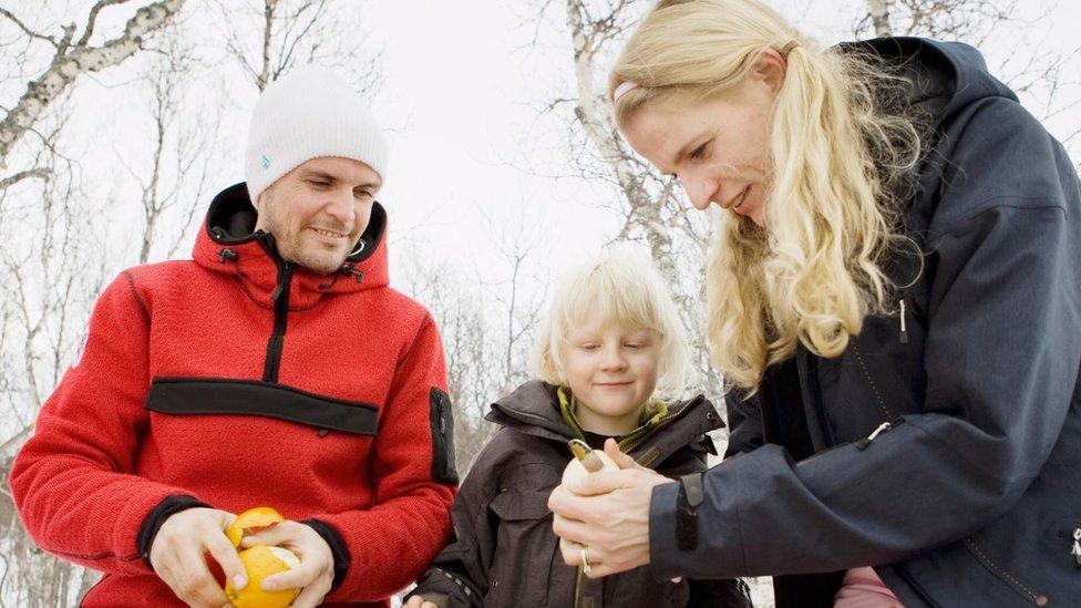 Algunas familias nórdicas prefieren transferir la herencia a sus hijos mientras los padres están en vida.