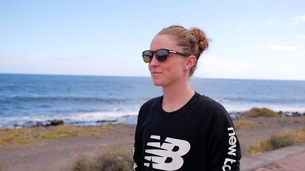 Non Stanford 'in best shape' after leaving UK triathlon training base