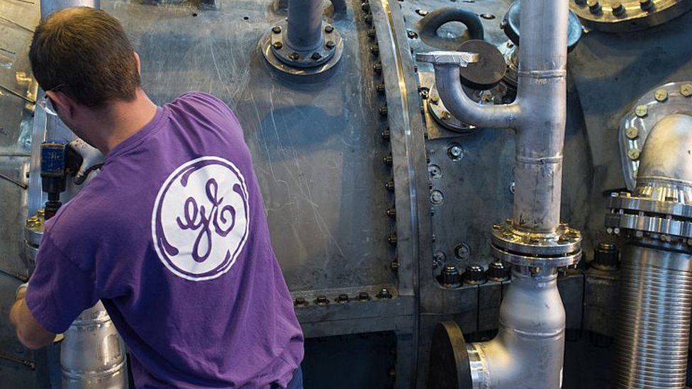 General Electric drops out of Dow index | BBC