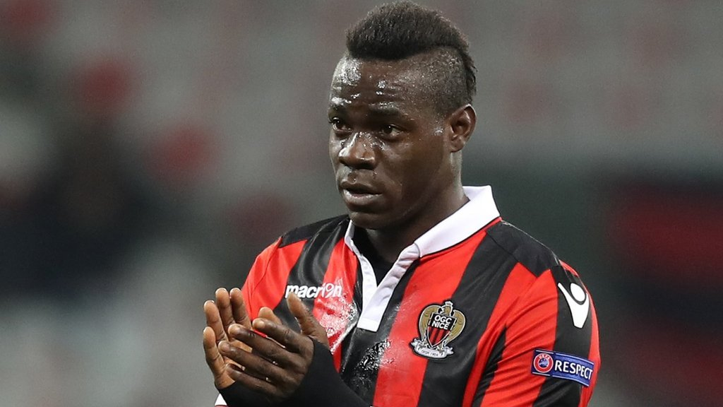 Mario Balotelli: Striker signs one-year Nice contract