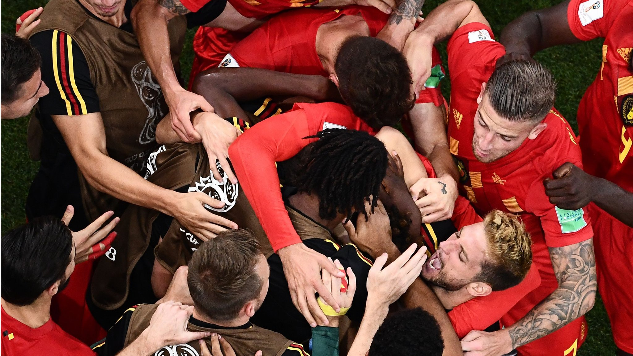 Belgium into quarters with incredible comeback against Japan
