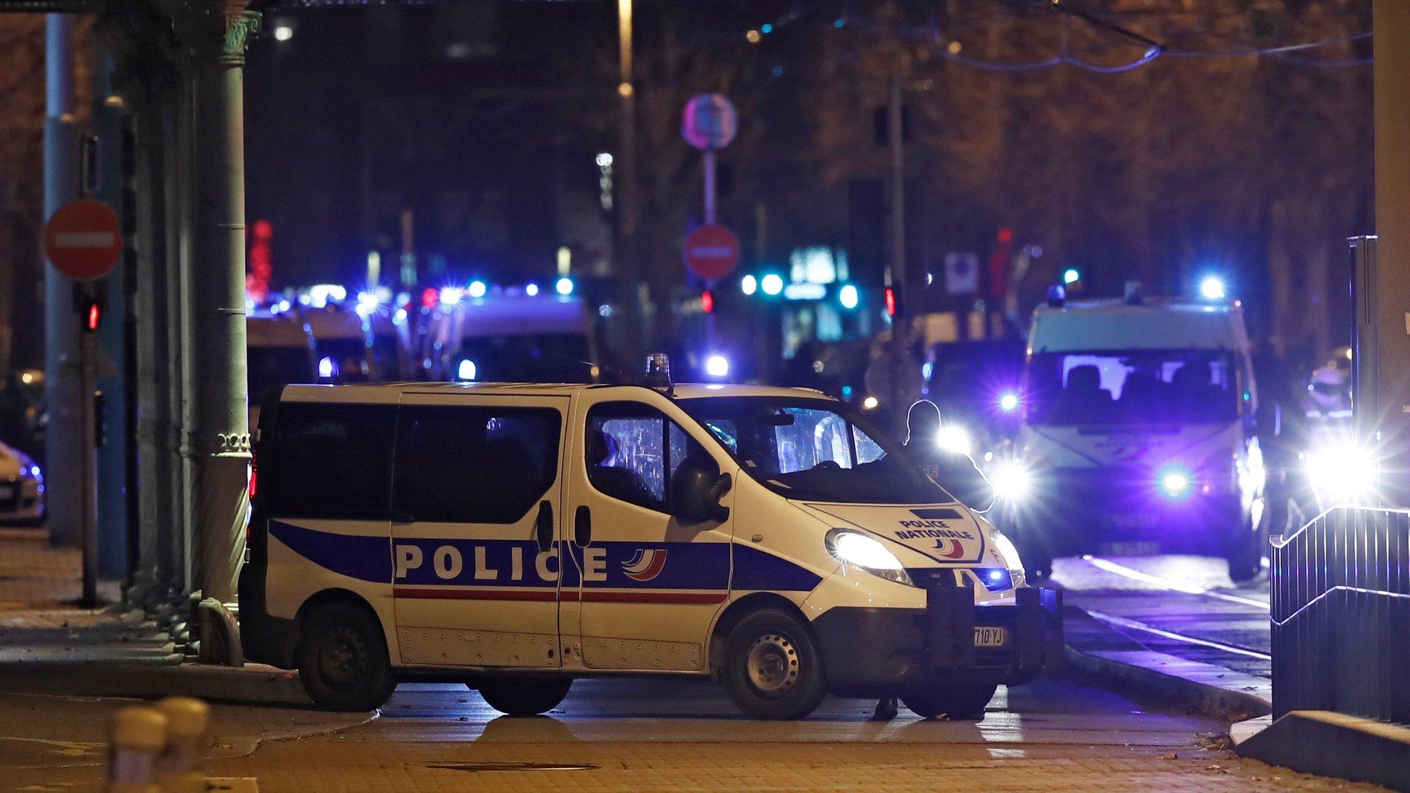Strasbourg: Christmas market attacker 'shot dead'