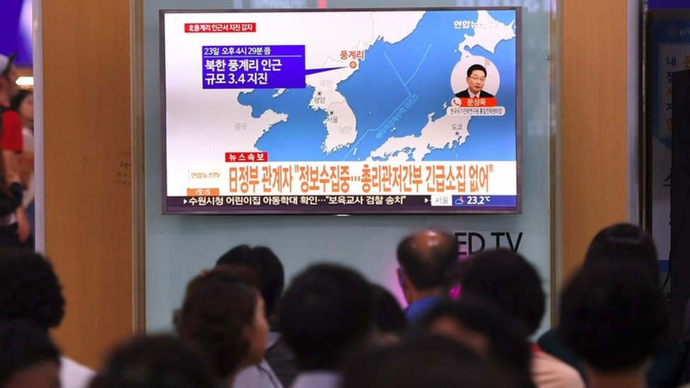 North Korea: Tremor detected near weapon test site
