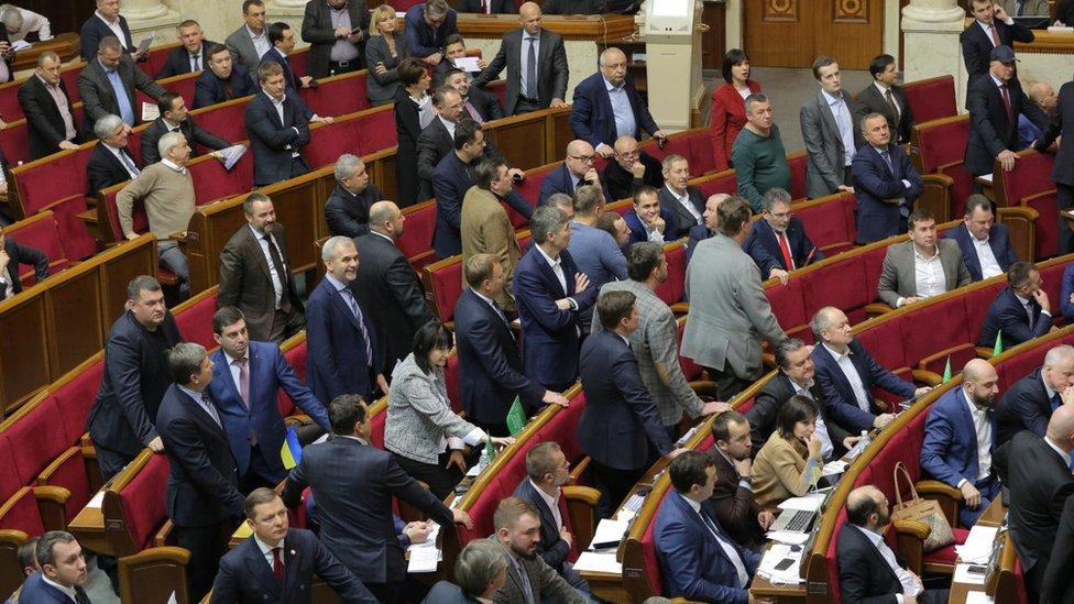 Рада розглядає закон про деокупацію Донбасу