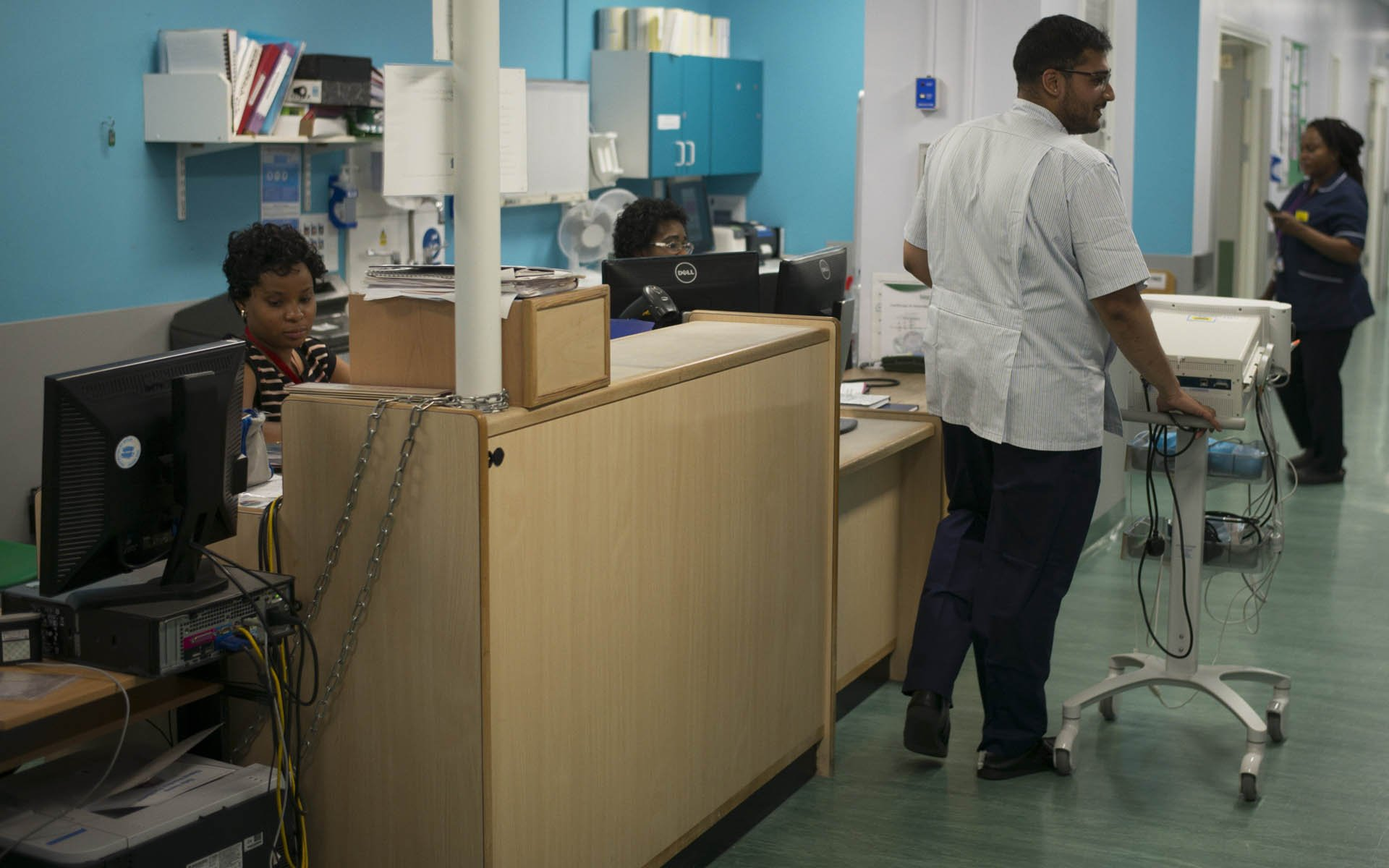 Ділан Чавен в університетській лікарні