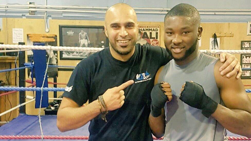 BBC Unsung Hero: Marcellus Bazs boxing school breaking vicious crime cycle