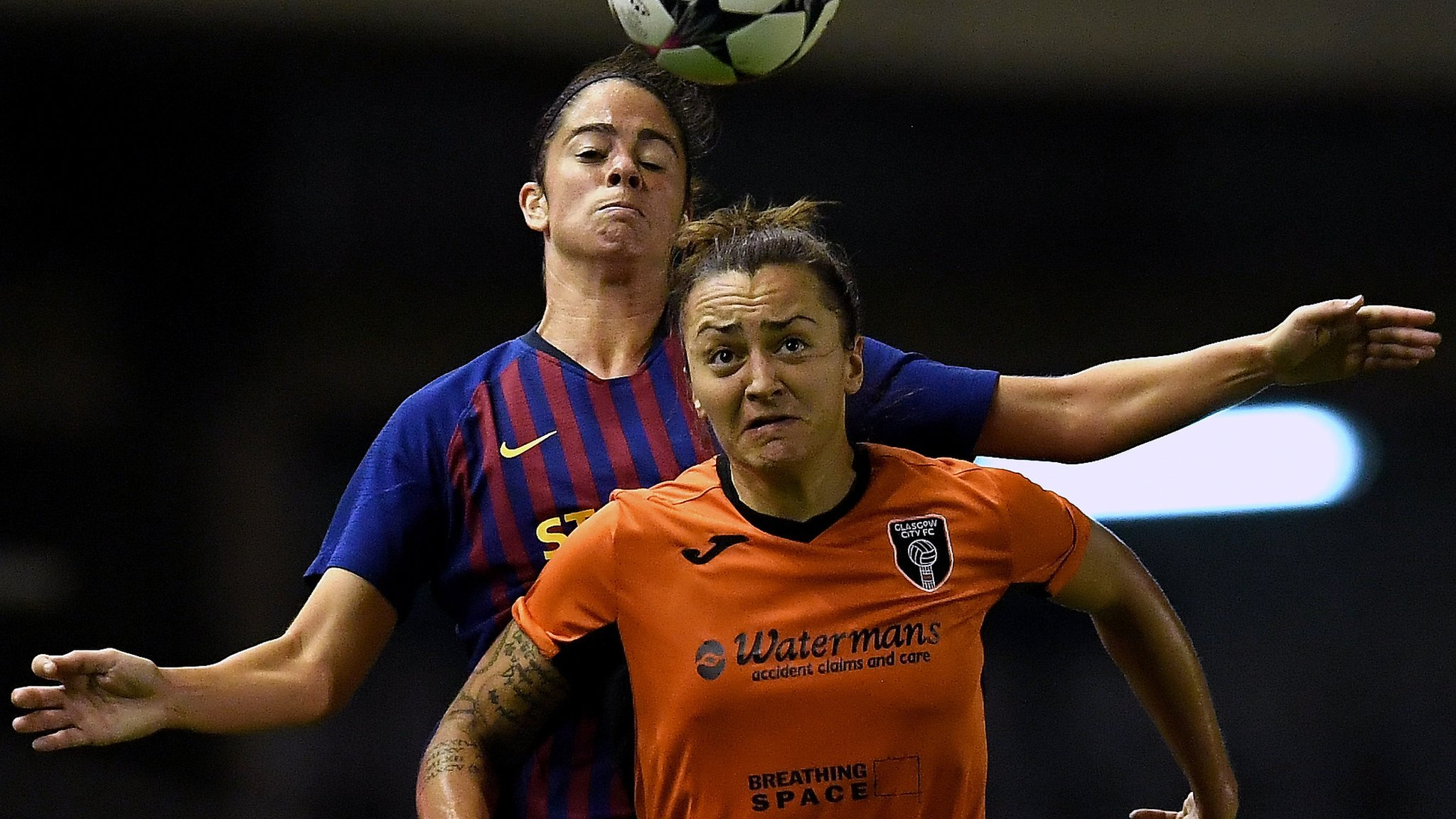 Glasgow City thrashed by Barcelona - highlights & report