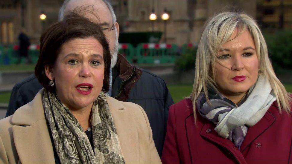 Government 'has no plan' for Northern Ireland - Sinn Féin