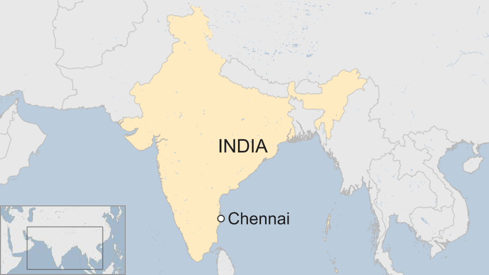 India Chennai students start fires after university 'suicide'