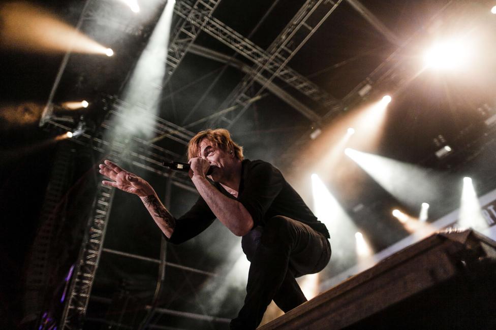 Campino en una presentación de Die Toten Hosen en 2015