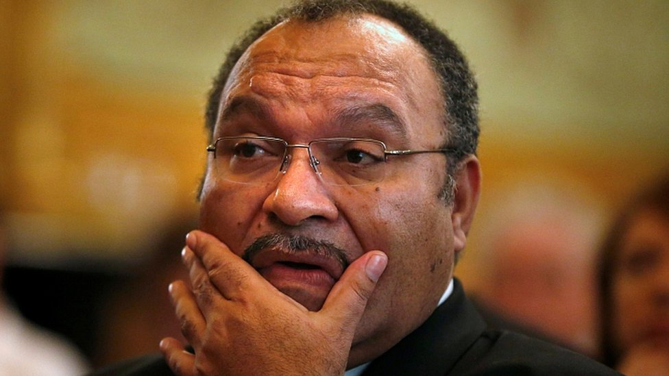 Papua New Guinea Prime Minister Peter O'Neill resigns