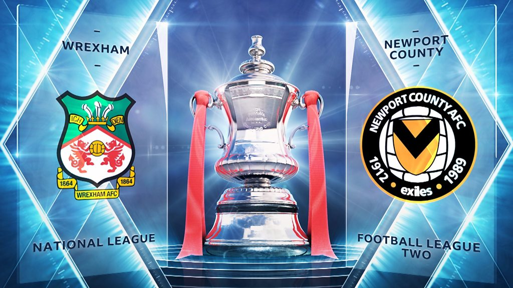 FA Cup: Wrexham 0-0 Newport County highlights