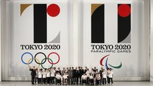 The logos for the 2020 Olympic and Paralympic Games in Tokyo