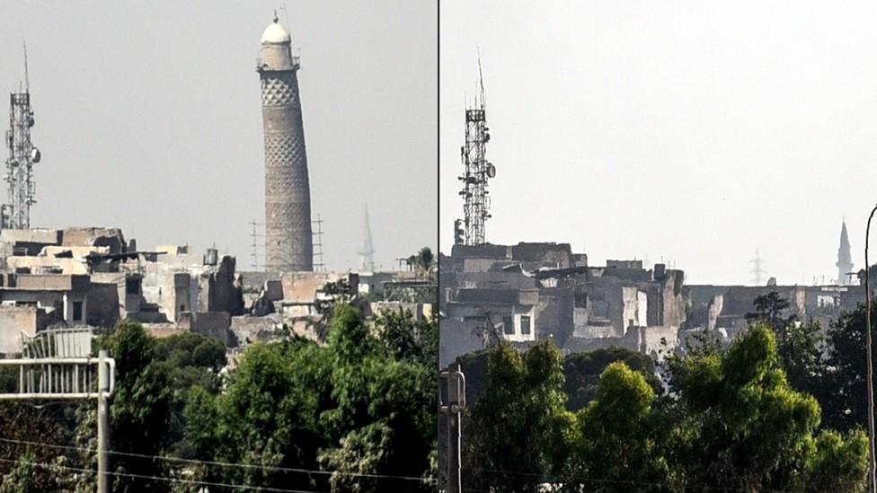 اليونسكو: تدمير جامع النوري مأساة ثقافية وإنسانية