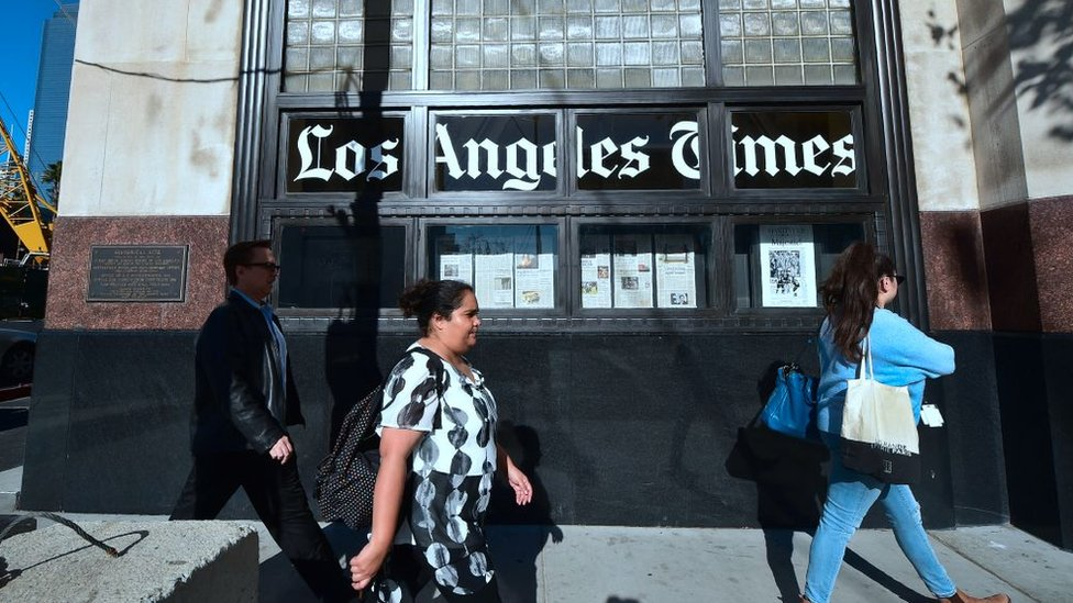 Sede de Los Ángeles Times.