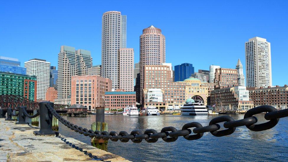 """El puerto de Boston, Seaport, es conocido también como el """"distrito de la innovación""""."""