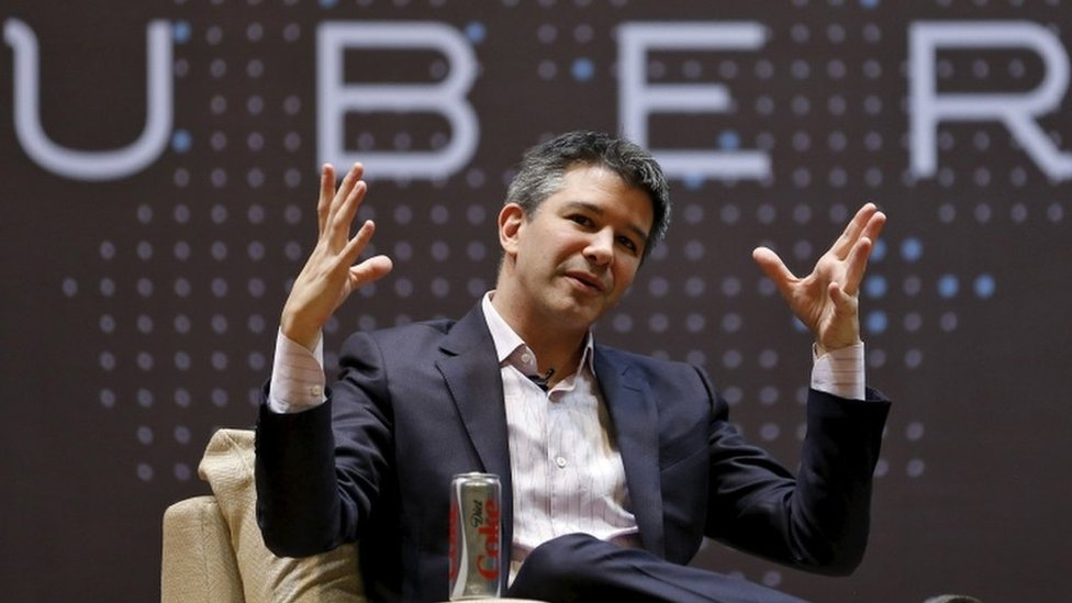 """El CEO de Uber Travis Kalanick dejo que es """"lamentable"""" que Jones anunciara su marcha en la prensa."""