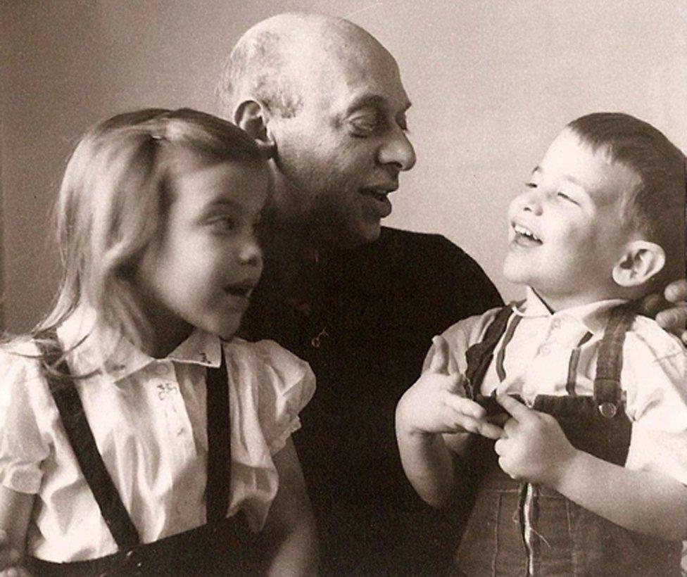 Adam Gopnik with Grandpop Al