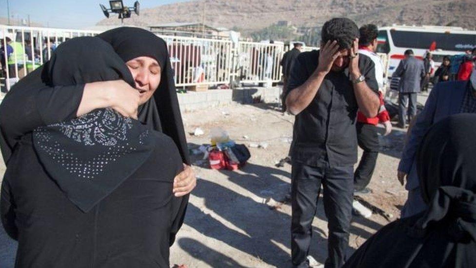 ایران اور عراق میں زلزلے سے تباہی
