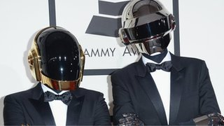 BBC - Newsbeat - Daft Punk are to play live with The Weeknd at this year's Grammys