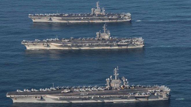 آمریکا بر تقویت توان دفاعی مقابل چین و روسیه تمرکز میکند