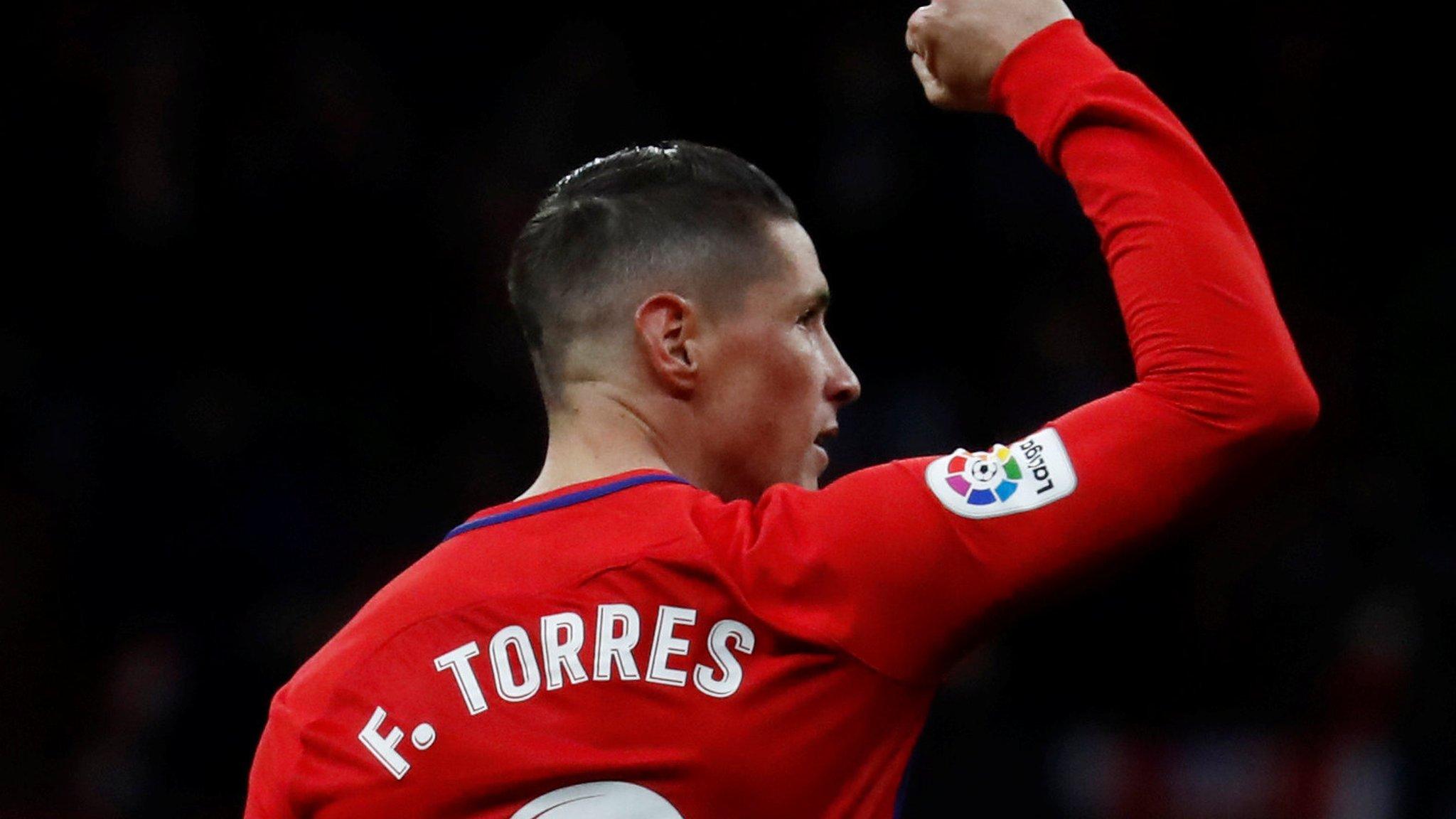 Torres goal puts Atletico second in La Liga