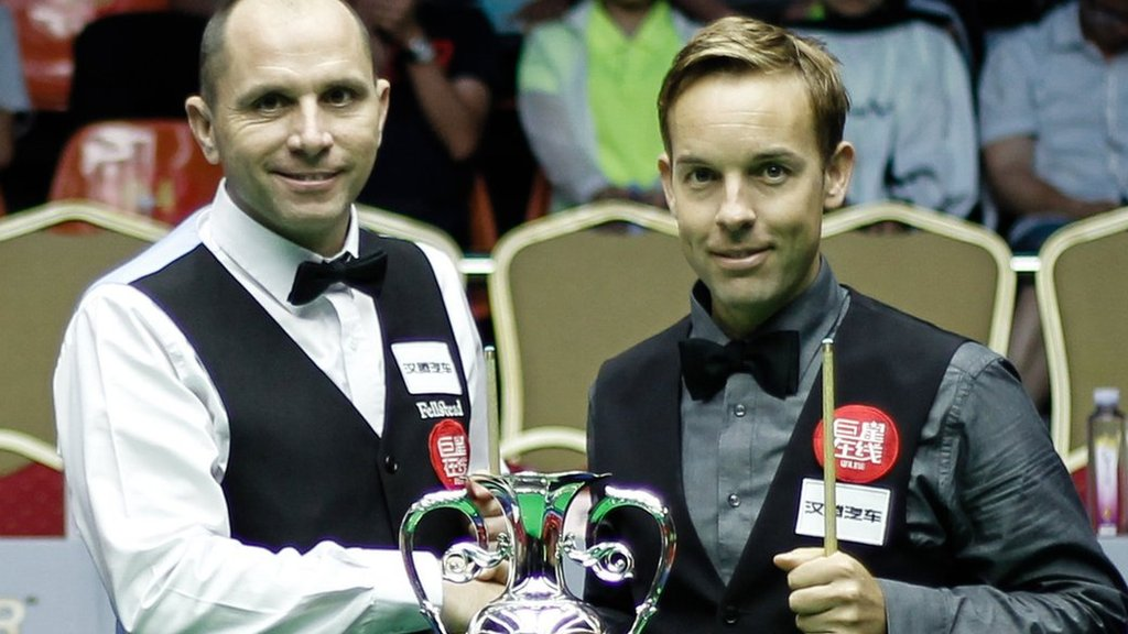 Ali Carter back in world's top 16 after beating Joe Perry in World Open final