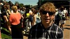 Comedian Josh Widdicombe takes to the grounds of Wimbledon