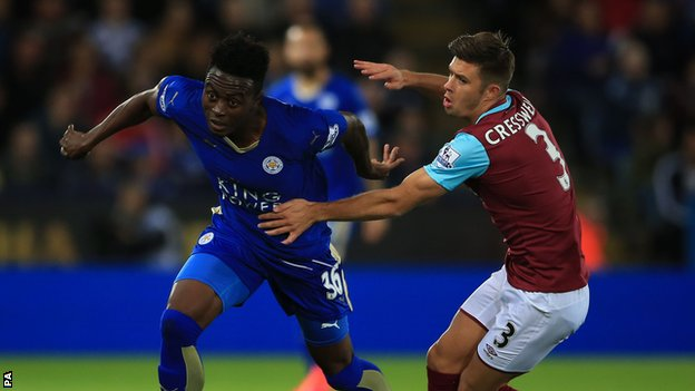 ไฮไลท์  Leicester City 2 - 1 West Ham United