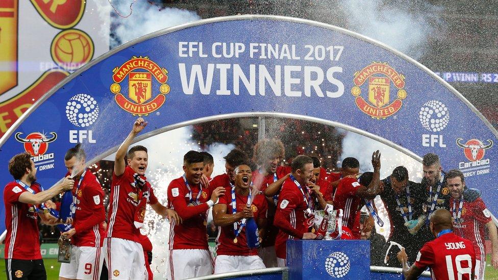 Manchester United celebra