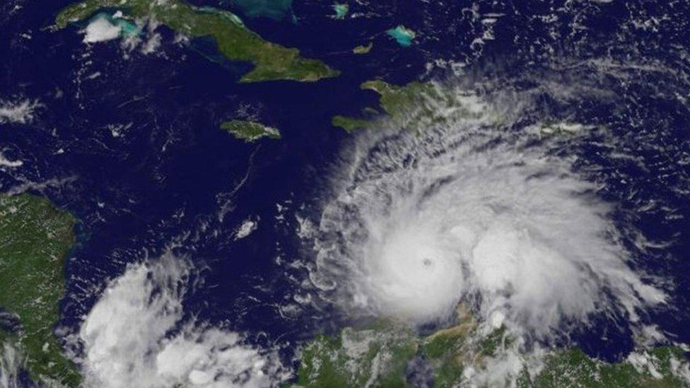 Hurricane Matthew is strongest storm in Atlantic in nine years