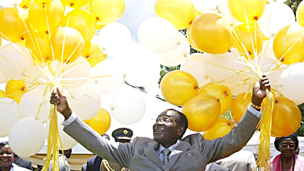 Mugabe's long career in pictures