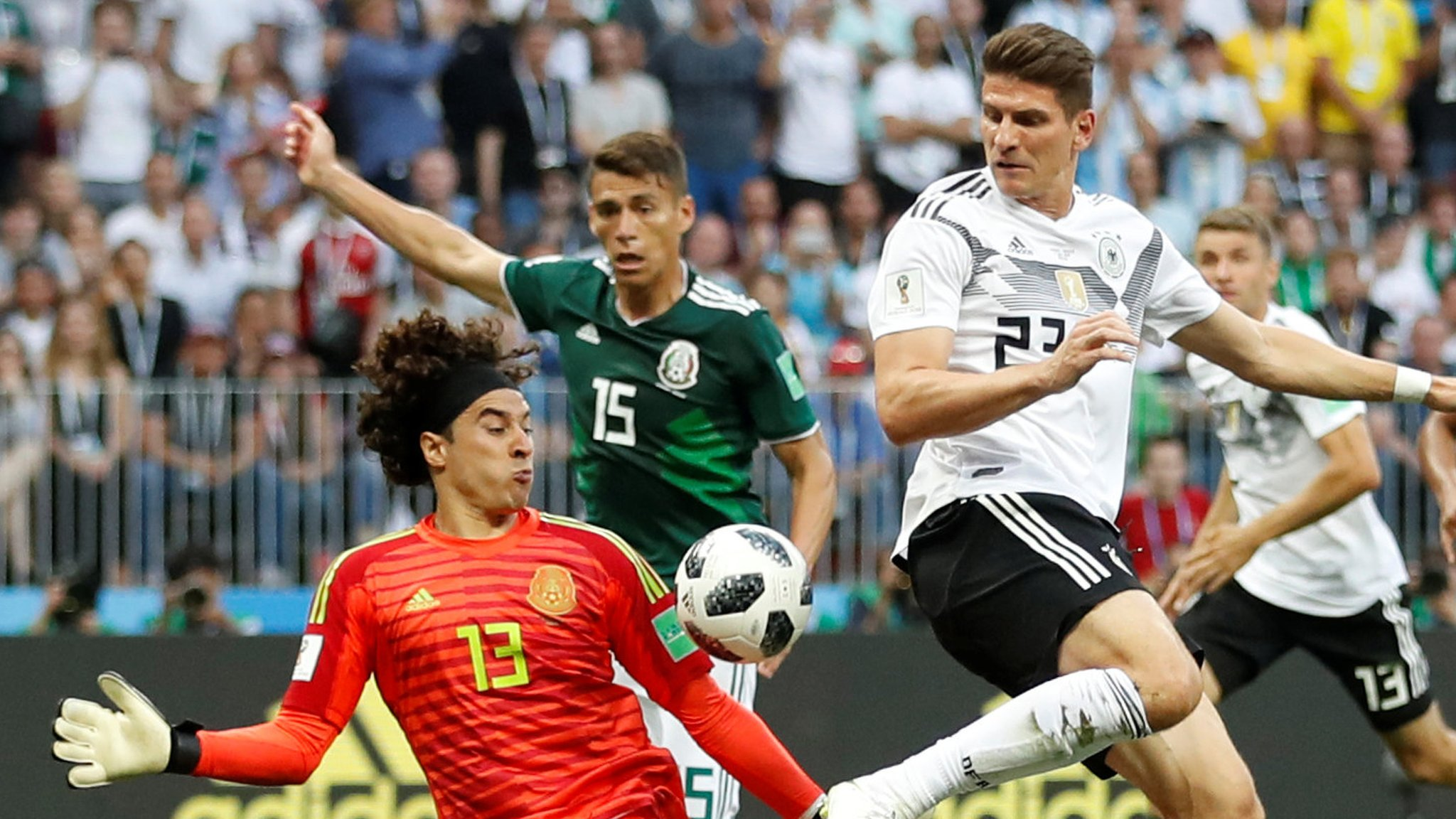World Cup 2018: Germany v Mexico - how you rated the players