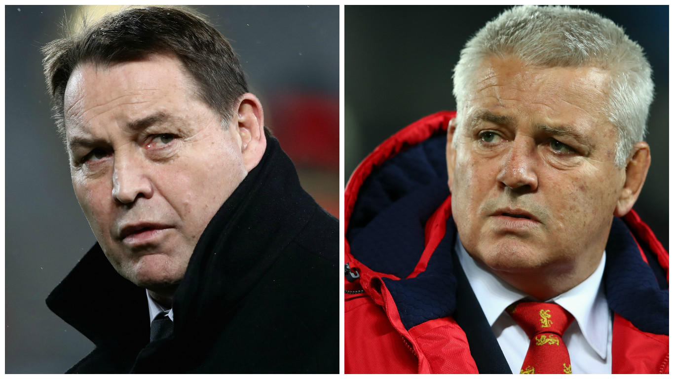 Gatland comments desperate - All Blacks coach Hansen