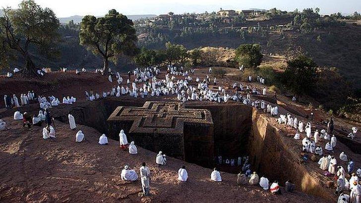 Ethiopian tourists site