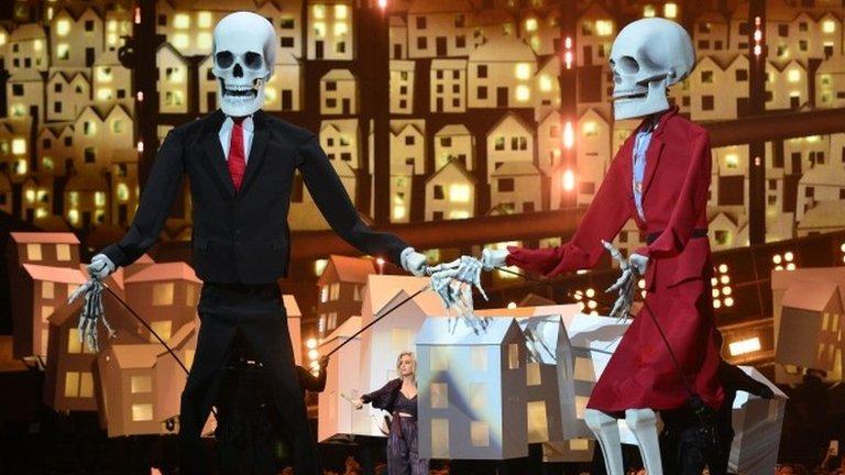 BBC News - Brit Awards 2017: Ceremony highlights