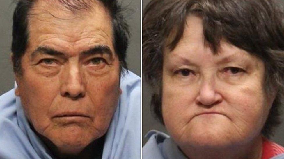 Benito y Carol Gutierrez (Foto: Departamento del Sheriff del condado de Pima)
