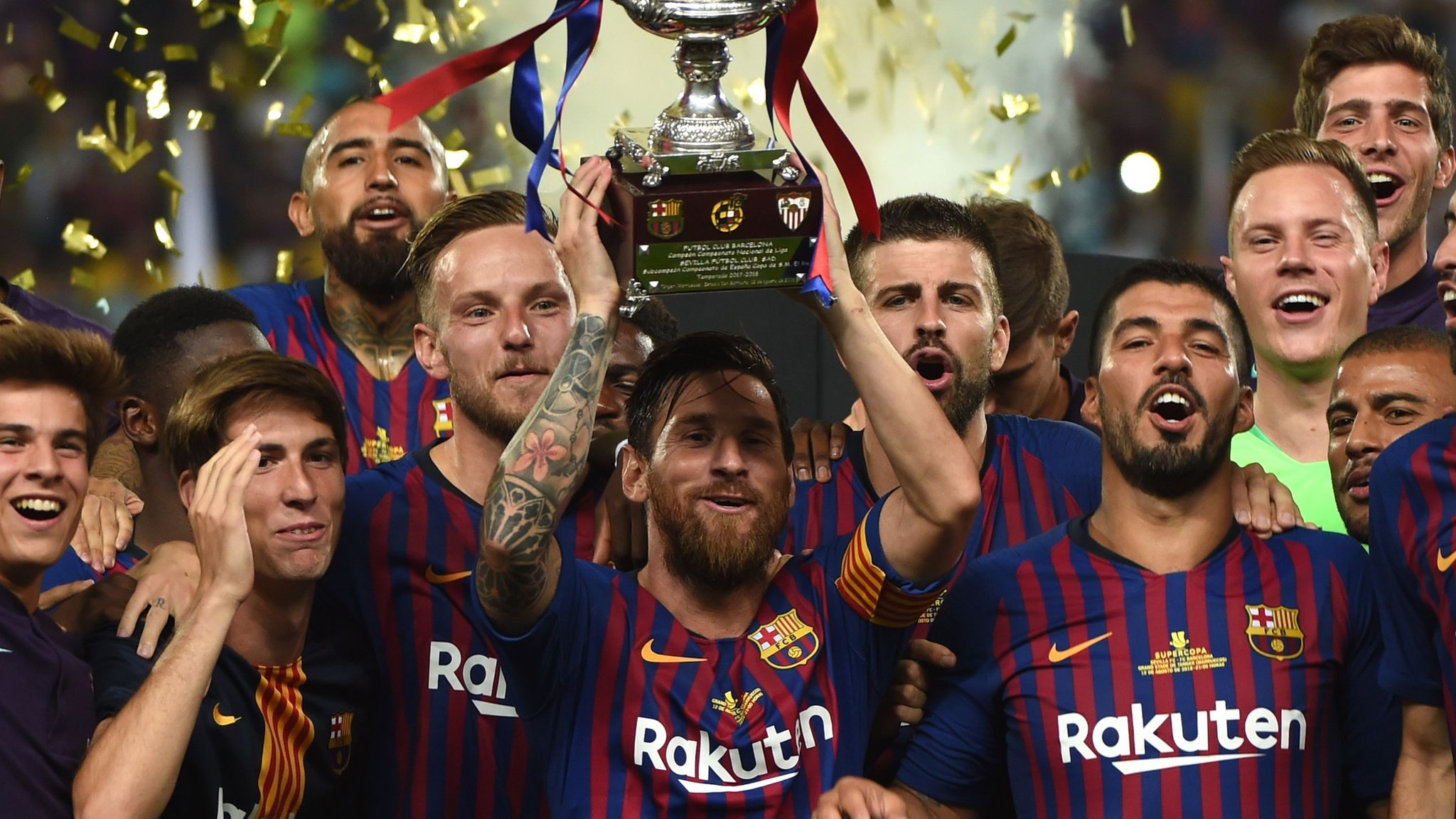 Barcelona win Spanish Super Cup in Morocco
