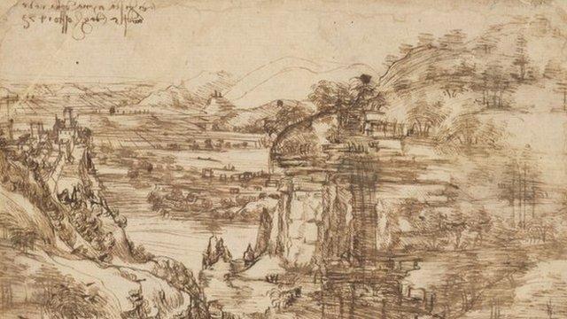 La Obra Que Demuestra Que Leonardo Da Vinci Era Ambidiestro Bbc News Mundo