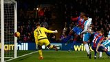 Yanick Bolasie scoring for Crystal Palace