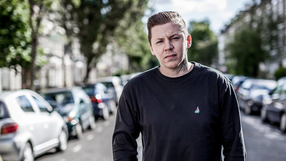 Lost loved ones star in Professor Green Photographs video