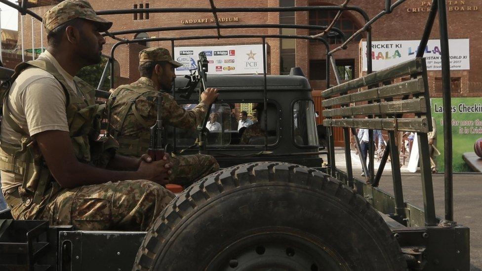 Soldados paquistaníes (foto de archivo)
