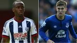 Saido Berahino and John Stones