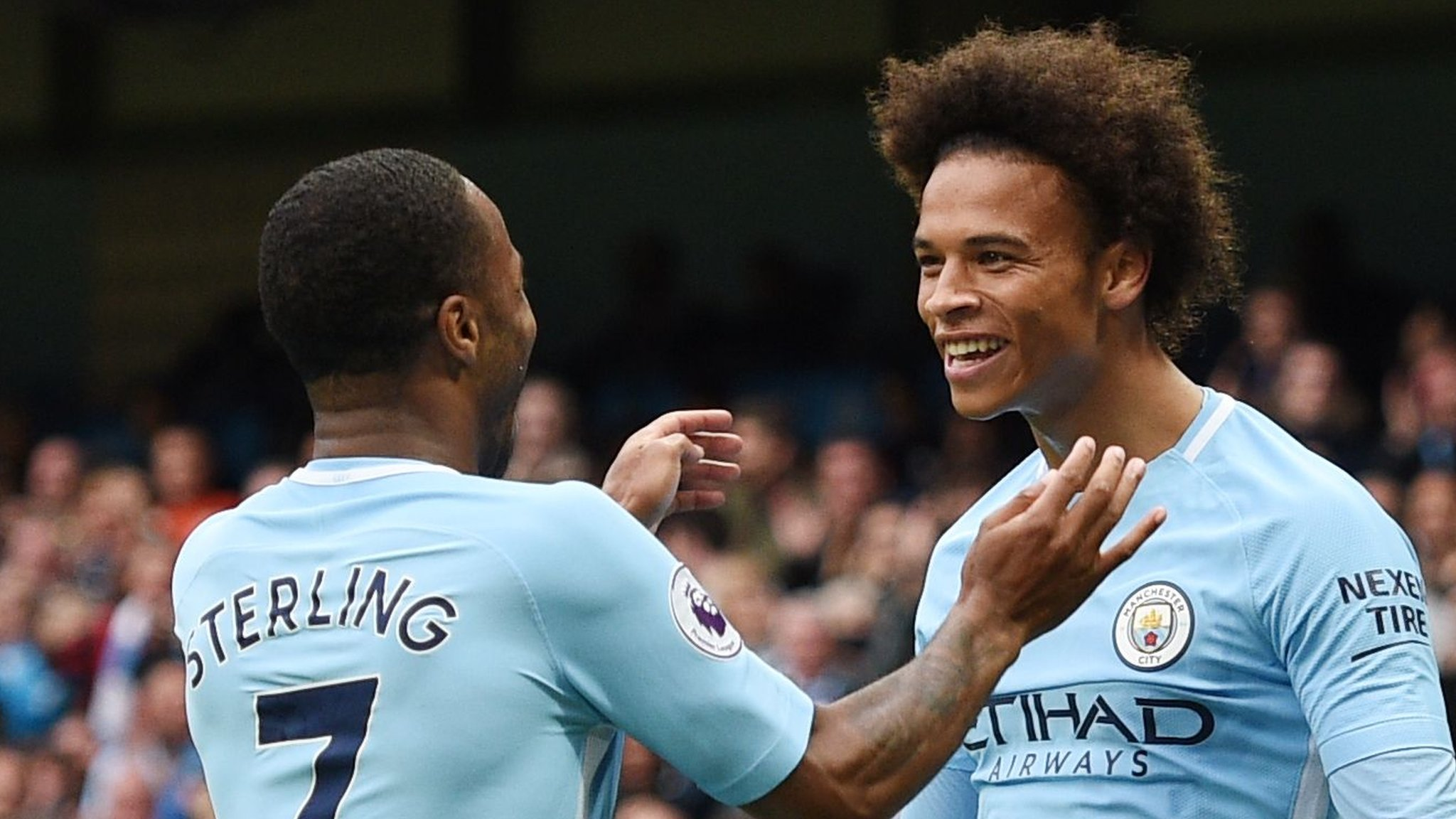 Man City score five as Palace set unwanted record