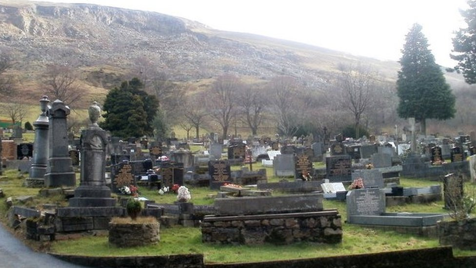 Blaenau Gwent cemetery bench shortage after insurance claims