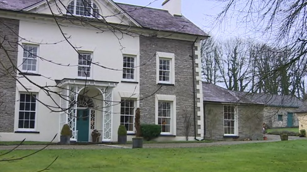 BBC News - Genesis studio manor house in Capel Iwan up for £1.1m