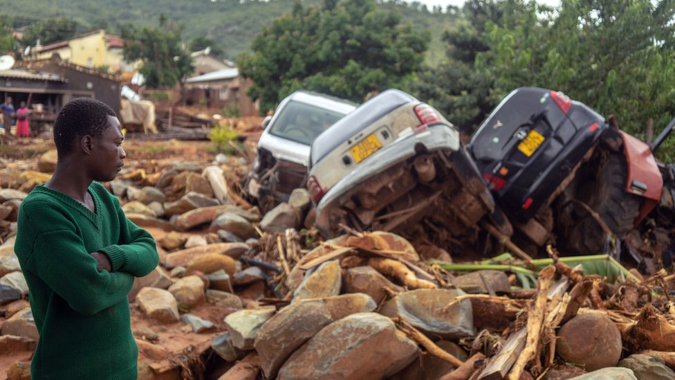 Cyclone Idai devastation in pictures