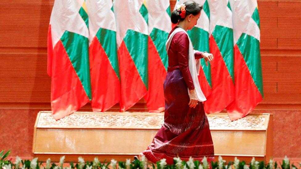 Aung San Suu Kyi, Myanmar, Rohingya