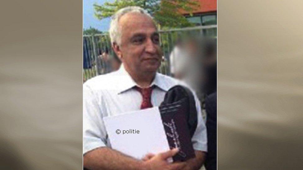 Does Iran hold key to Dutch murder mystery? | BBC