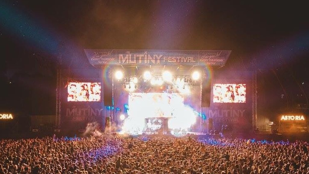 Two die after taking ill at Portsmouth Mutiny Festival